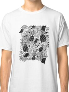 Black Cats and Pineapples Classic T-Shirt