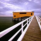 Queenscliff Pier - Victoria by bekyimage