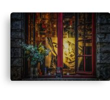 Window of a Painter Canvas Print