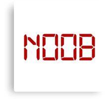 Noob Digital Canvas Print
