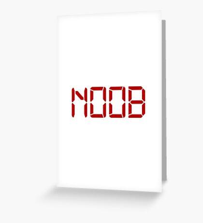 Noob Digital Greeting Card