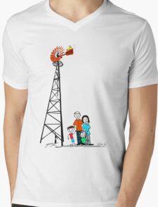Just Add Wind Mens V-Neck T-Shirt