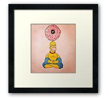Bouda Homer Framed Print