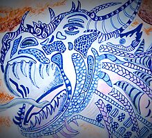 Dragon Roar by Sacha  Whitehead