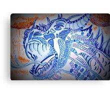 Dragon Roar Canvas Print