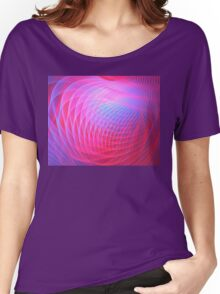 Fuchsia Planet Women's Relaxed Fit T-Shirt