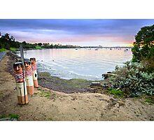 Western Beach - Geelong Victoria Photographic Print
