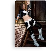 Ash Smashem Punisher 4 Canvas Print