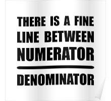 Numerator Denominator Poster