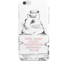 Sind Keksdiebe eigentlich krümelnell? iPhone Case/Skin