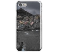 Manarola at dawn iPhone Case/Skin