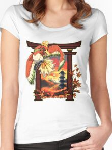 Heart Gold Women's Fitted Scoop T-Shirt
