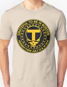 Boston Black & Gold Unisex T-Shirt