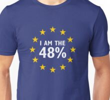I am the 48% Unisex T-Shirt