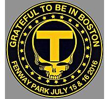 Boston Black & Gold Photographic Print