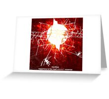 Marillion - Happiness Is The Road Greeting Card