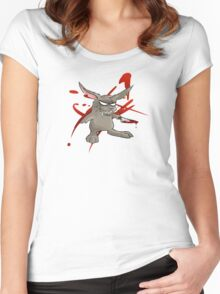 Bad Bunny Women's Fitted Scoop T-Shirt