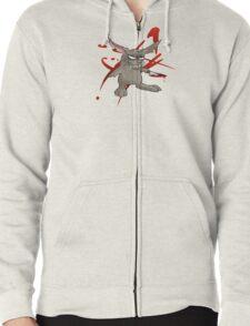 Bad Bunny Zipped Hoodie