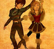 "How to Train Your Dragon 2 ""For the Dancing and the Dreaming"" by Beejutsu :)"
