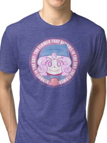 [shirt] the flower that blooms in the sky Tri-blend T-Shirt