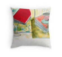 Coffee or Drinks Throw Pillow