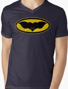 Gotham Gremlin (distressed) Mens V-Neck T-Shirt