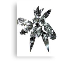 Mega Scizor used Bullet Punch Canvas Print