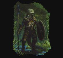Argonian Warrior Baby Tee