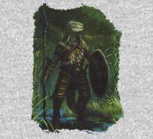 Argonian Warrior One Piece - Long Sleeve