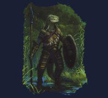 Argonian Warrior Kids Tee