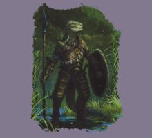 Argonian Warrior Kids Clothes