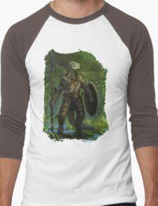 Argonian Warrior Men's Baseball ¾ T-Shirt