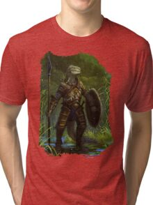 Argonian Warrior Tri-blend T-Shirt
