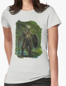 Argonian Warrior Womens Fitted T-Shirt