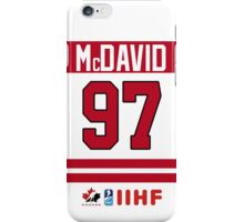 Connor McDavid Team Canada iPhone Case/Skin