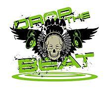 Drop the beat Photographic Print
