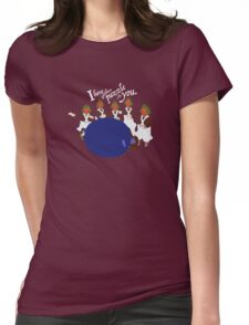 Big Blueberry Womens Fitted T-Shirt