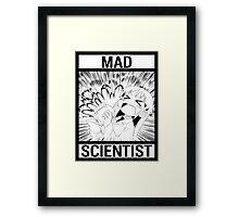Nichijou Mad Scientist Framed Print