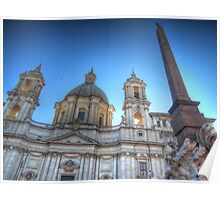 Church of Sant'Agnese in Agone Poster