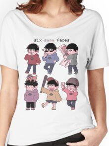 same face? same face Women's Relaxed Fit T-Shirt