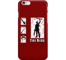 The King - Light iPhone Case/Skin