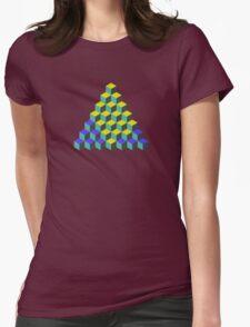 Q*Bert Womens Fitted T-Shirt