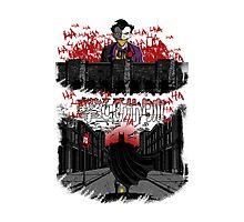 Attack on Gotham Photographic Print