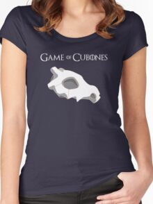 Game Of Cubones Women's Fitted Scoop T-Shirt