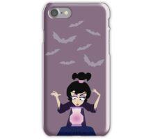 Lydia Incantation (Purple) iPhone Case/Skin