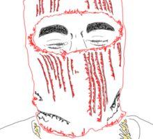 Kanye West Yeezus Print Sticker