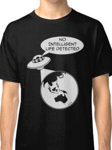 UFO: No Intelligent Life Detected (Oceania) Classic T-Shirt