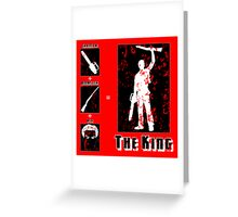 The King - Dark Greeting Card