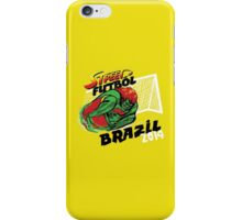 Street Futbol Brazil 2014 iPhone Case/Skin
