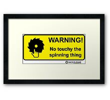 Touchy Framed Print